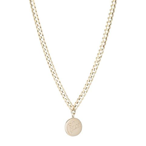 Medallion Signet Necklace