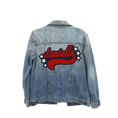 Custom Knox Jacket Letterman Patch