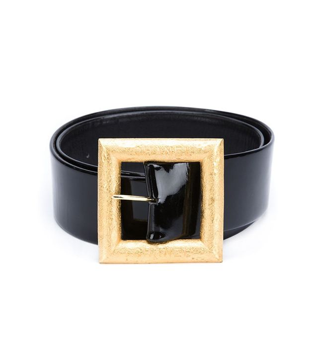 Chanel Vintage Large Buckle Belt