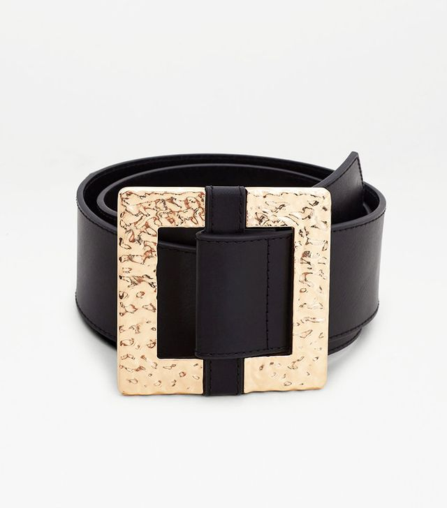 Mango Metal Buckle Belt