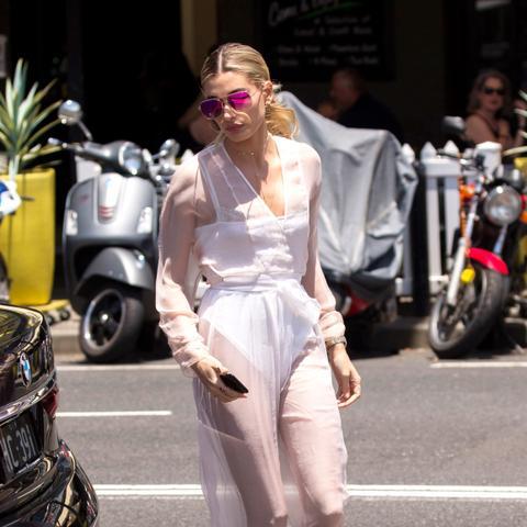 Every Outfit Hailey Baldwin Has Worn in Sydney So Far