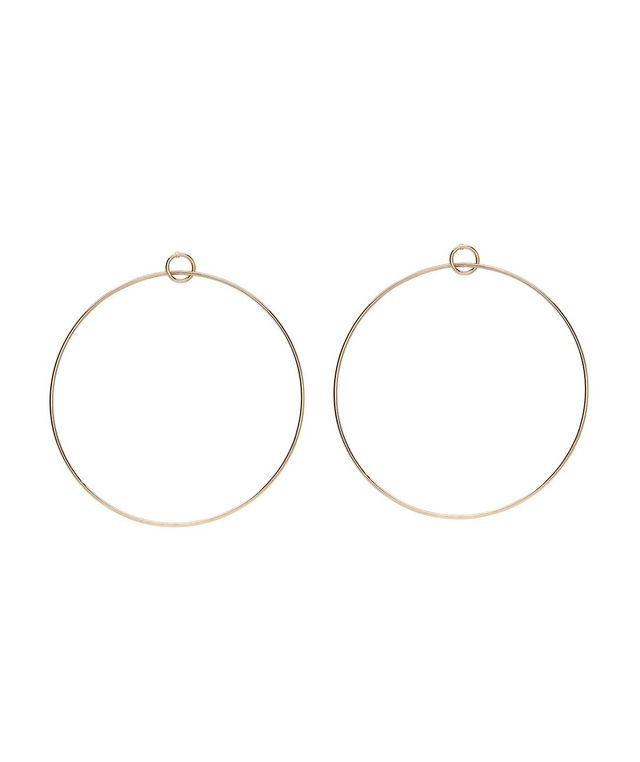 Sportsgirl Hula Gold Hoop Earrings