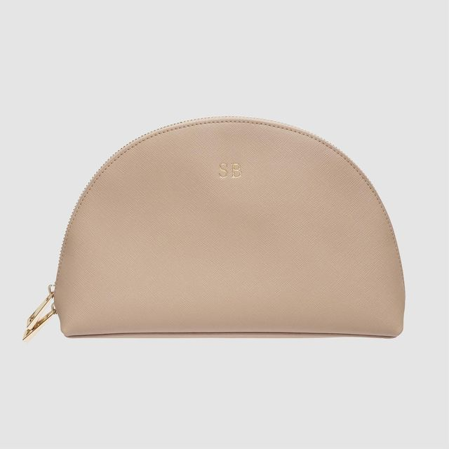 The Daily Edited Taupe Moon Clutch