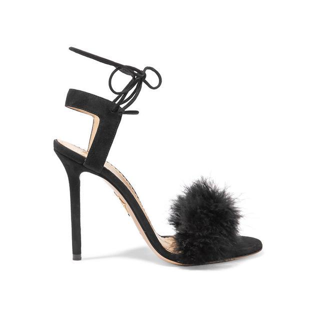 Charlotte Olympia Salsa Feather Heels