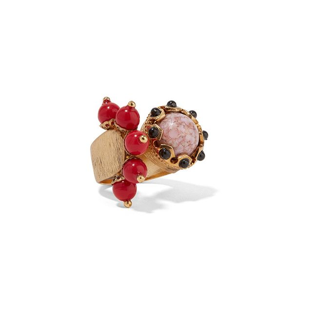 Etro Gold Plated Ring