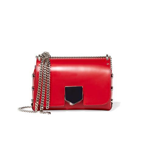 Locket Small Leather Shoulder Bag