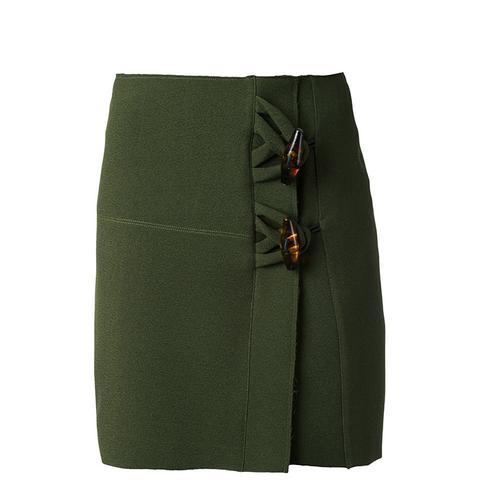 Dual Knot Resin Mini Skirt