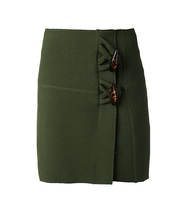Christopher Esber Dual Knot Resin Mini Skirt