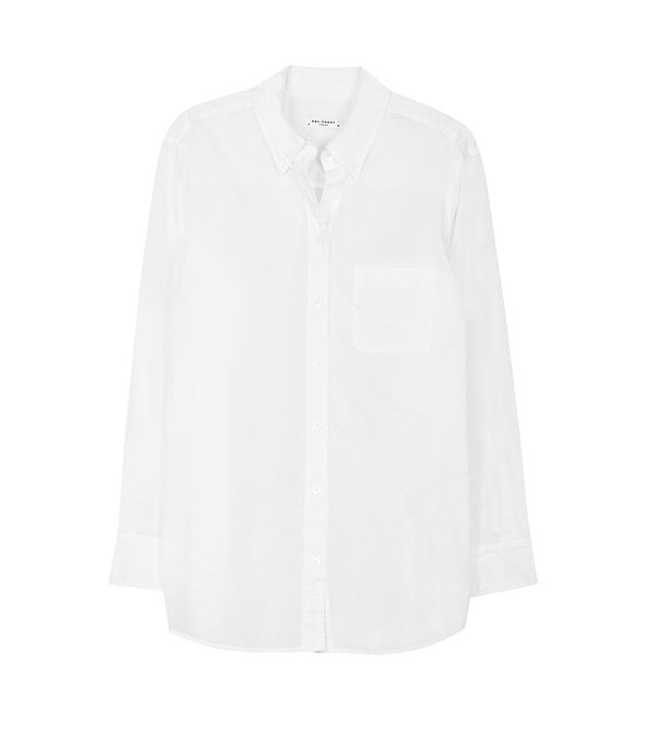 Equipment Margaux Cotton Shirt Bright White