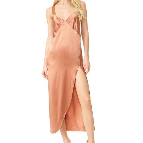 Cross Back Slip Maxi Dress