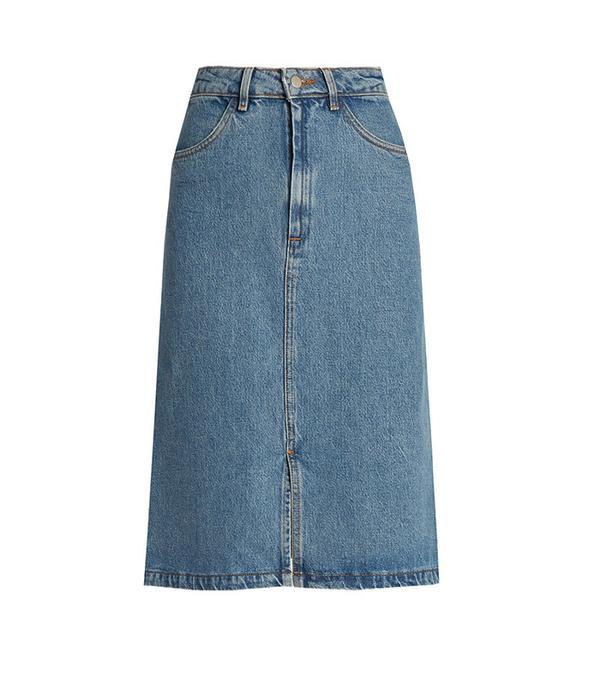 M.i.h Jeans Parra Denim Skirt