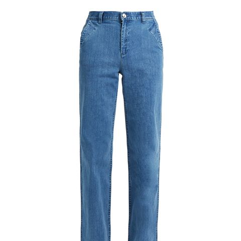 America High-Waisted Wide-Leg Jeans