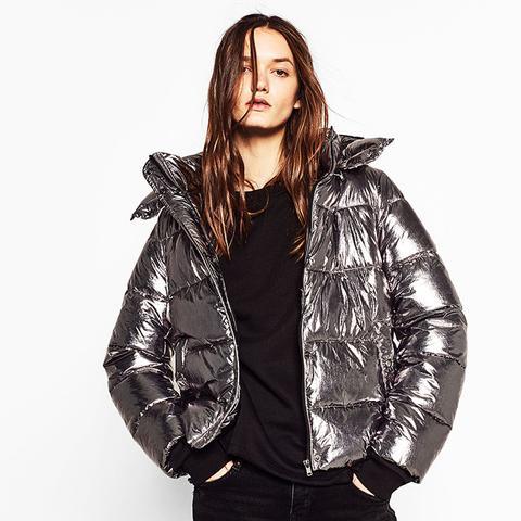Short Metallic Jacket