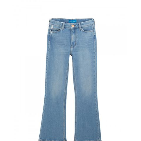 Marty High-Rise Cropped Flare Jeans