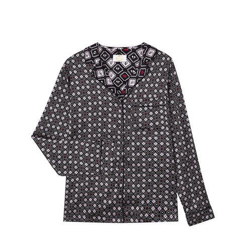 Ace of Spades Silk Shirt