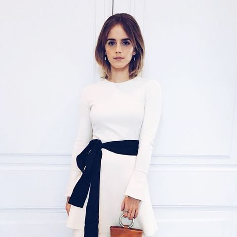 Ethical fashion Emma Watson: Simon Miller bag