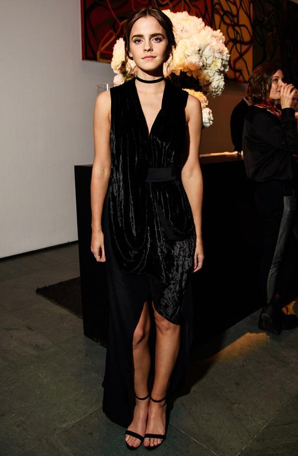 Ethical fashion Emma Watson: