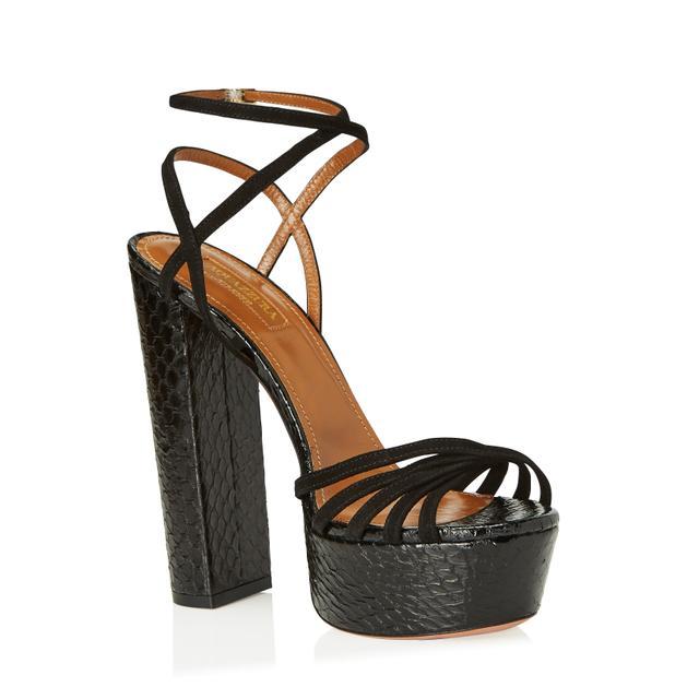 Farfetch x Aquazzura Very Claire Sandals