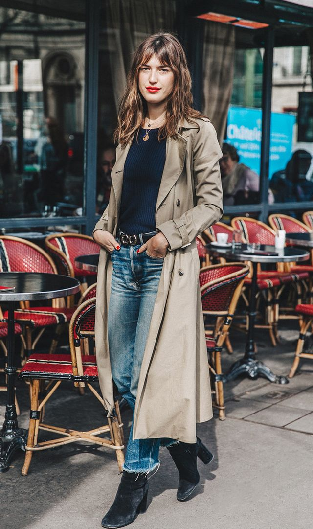 Jeanne Demas street style at Paris Fashion Week Fall 2016