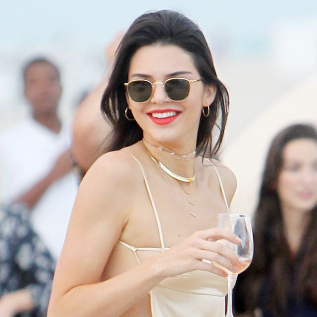 The Surprising New Way Kendall Jenner Wears a Slip Dress