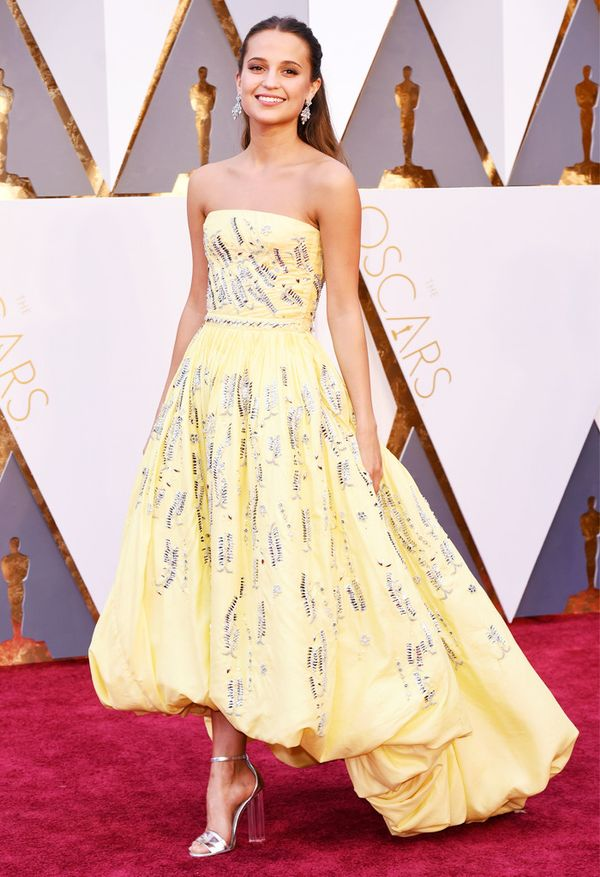 Who: Alicia Vikander