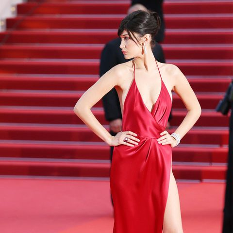 best red carpet dresses 2016: Bella Hadid Cannes