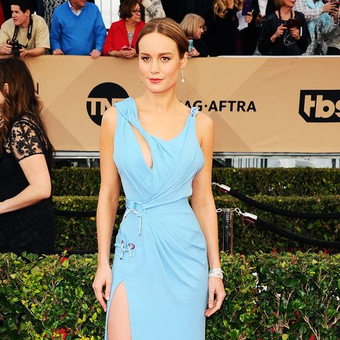 best red carpet dresses 2016: Brie Larson SAG Awards