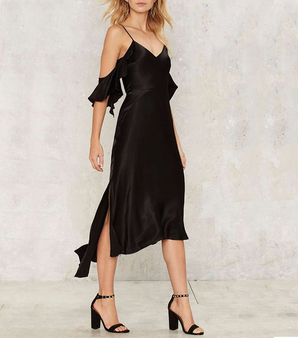 Nasty Gal Bardot Rebecca Midi Dress