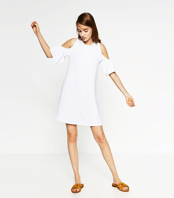 Zara Dress with Frills