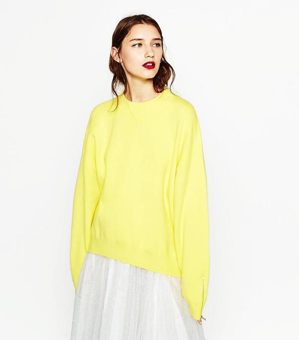 Zara Knit Sweatshirt