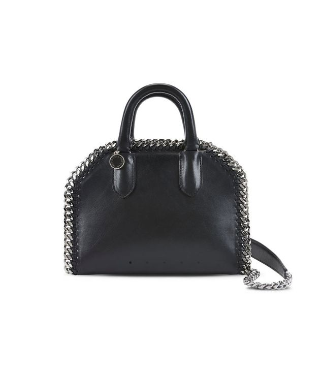 Stella McCartney Black Falabella Box Mini Bag
