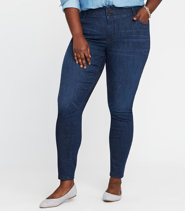 Old Navy High-Rise Built-In Sculpt Rockstar Skinny Jeans