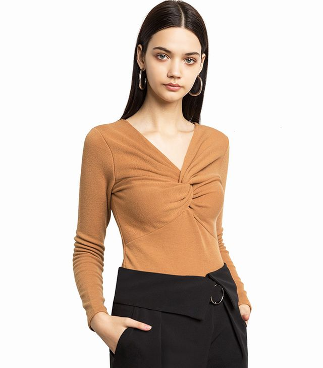 Pixie Market Agnes Knotted Top