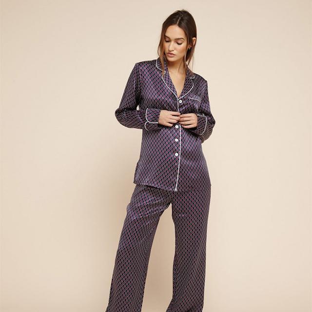 Olivia von Halle Lila Zayna Silk Pyjamas
