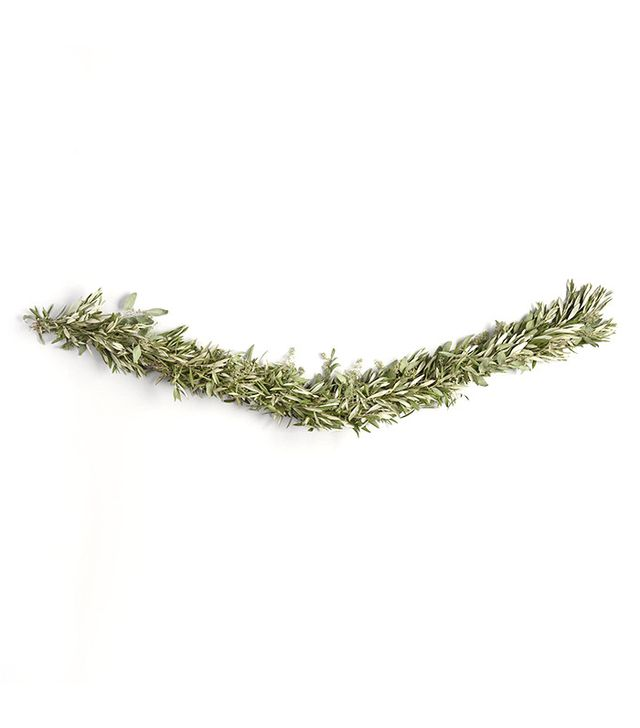 World Market Live 6' Olive and Eucalyptus Garland