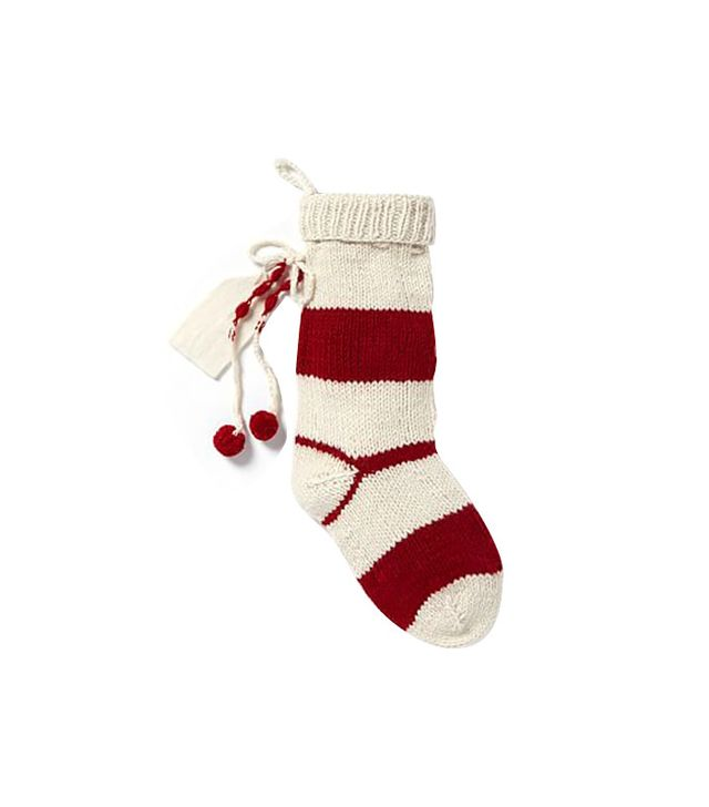 West Elm Knit Stocking