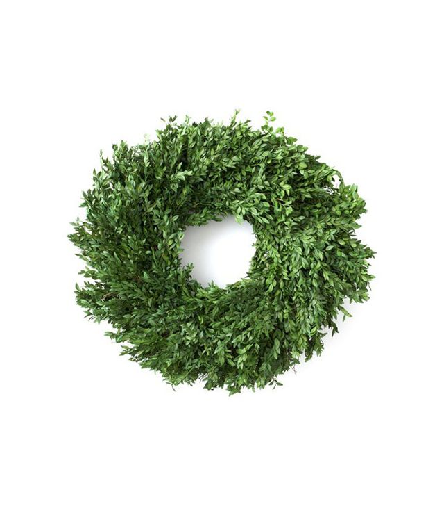 "Knud Nielson Company 24"" Boxwood Wreath, Preserved"