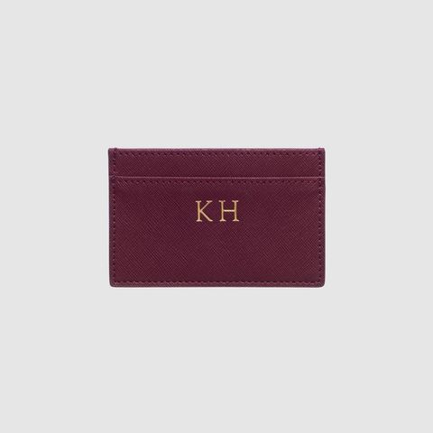 Burgundy Card Holder