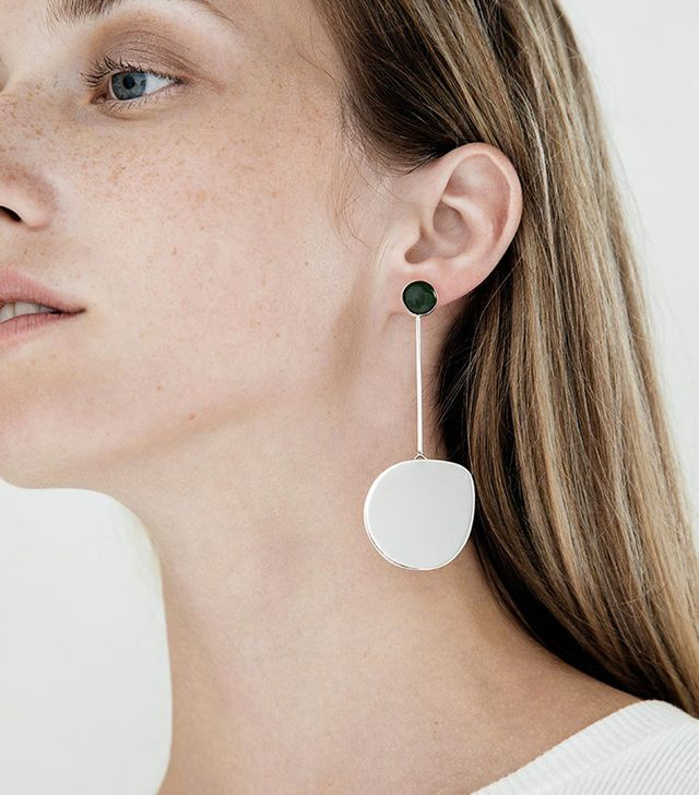 Faris Small Pendo Drop Earrings