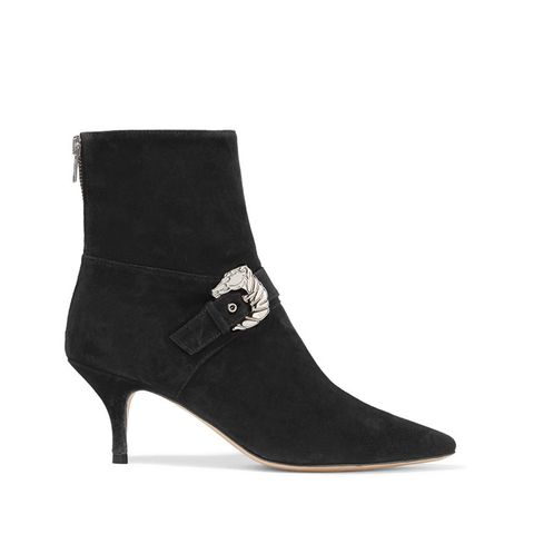 Saloon Suede Booties