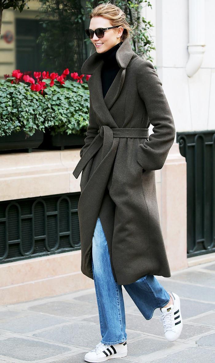 Karlie Kloss street style adidas