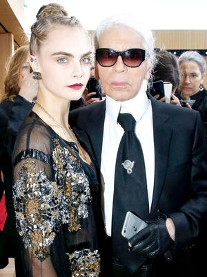 Surprise! Cara Delevingne Just Made Her Runway Return