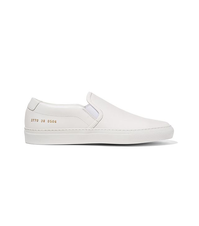 Common Projects Leather Slip-On Sneaker