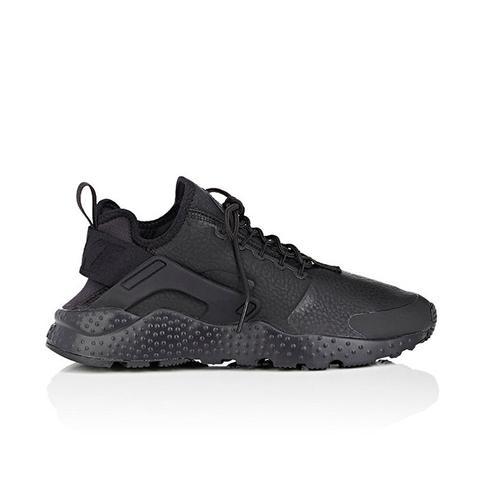 Air Huarache Run Ultra Premium Leather Sneakers