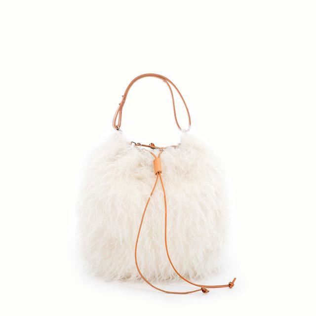Muuñ Grizzly Mohair Bag
