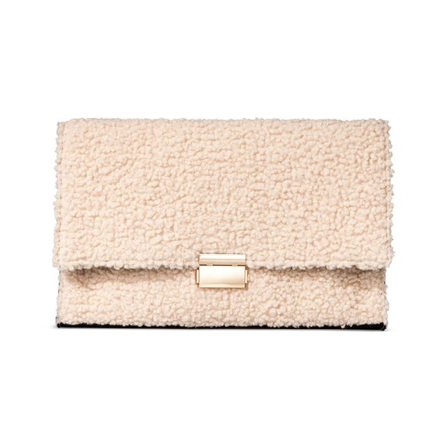 Who What Wear for Target Teddy Bear Clutch