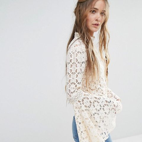 Kiss And Bell Lace Top