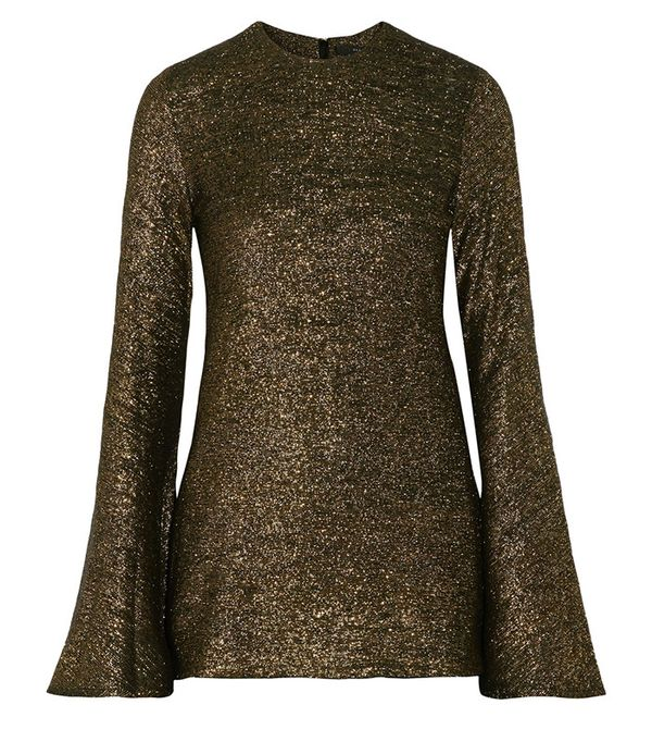 Ellery Inception Metallic Knitted Sweater
