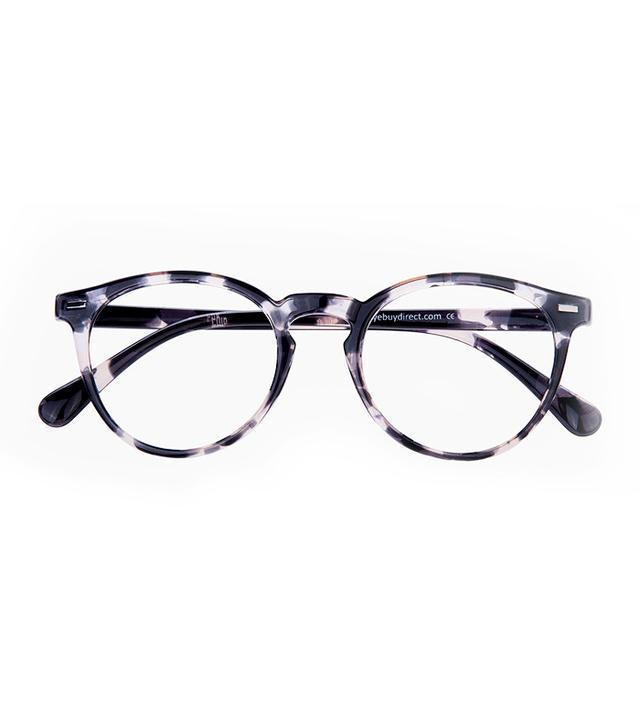 cheap-holidays-Peninsula-Gray-Floral-Eyeglasses
