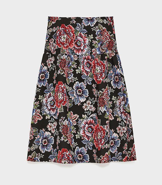 Zara Skirt With Buckle
